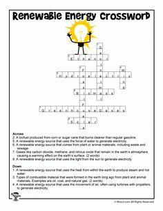 Renewable Energy Lesson Plan And Printable Worksheets Power And