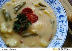 "Fazolková ""kyselka"" recept - TopRecepty.cz Cheeseburger Chowder, Mashed Potatoes, Soup, Ethnic Recipes, Europe, Cooking, Whipped Potatoes, Smash Potatoes, Soups"