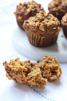These carrot apple muffins are sweetened only by fruit. No added sugar, honey, maple syrup or any other sweetener. Guilt free and perfect for breakfast