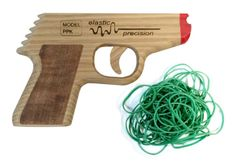 Take out Your Foes with the Semi-Automatic PPK #RubberBand #Gun:... - Geek gifts