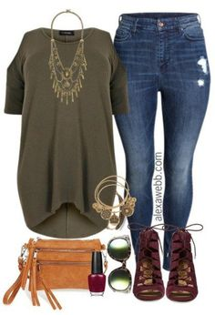 Awesome 63 Casual but Comfy Plus Size Fall Outfits Ideas. More at https://aksahinjewelry.com/2017/09/06/63-casual-comfy-plus-size-fall-outfits-ideas/