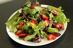 Strawberry & Avocado Salad with a Citrus Vinaigrette