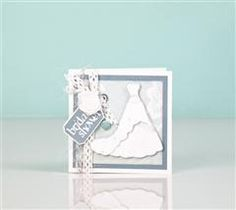 Make a beautiful and personalized bridal shower invitation!  (Make my own version with the Tie The Knot cartridge)