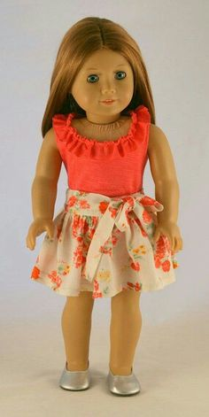 American Girl Doll Clothes - Custom Order for Olga (Part 2 . American Doll Clothes, Ag Doll Clothes, Doll Clothes Patterns, Clothing Patterns, Doll Patterns, America Girl, All American Girl, Girl Dolls, Ag Dolls