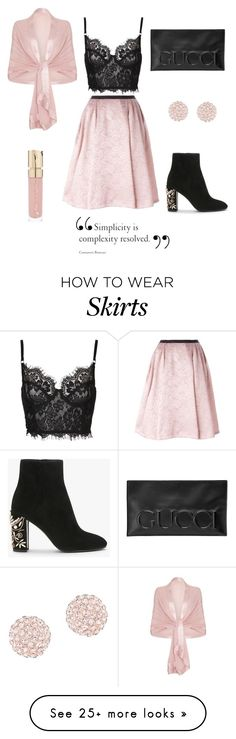 """""""Untitled 44"""" by jaelclarice on Polyvore featuring Antonio Marras, Gucci, Smith & Cult and Swarovski"""