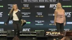 Face-Off! UFC 193 Stars Mean Mugging Down Under - http://www.lowkickmma.com/ufc-3/face-off-ufc-193-stars-mean-mugging-down-under/