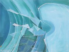 Wilhelmina Barns-Graham, 'Variations On a Theme - Splintered Ice No. Art First Water Drawing, Beneath The Surface, Action Painting, Colorful Paintings, Global Art, Art Market, Barns, Graham, Original Artwork