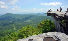 """Appalachian Trail,  United States:   Cutting through 14 states on the Eastern seaboard, the 2,180-mile """"A.T."""" is one of the longest continuously marked trails in the world, taking in a greater variety of scenery than any other path on the continent. The route starts in Georgia's rugged green Chattahoochee-Oconee National Forest, winds up through the vast valleys & peaks of the Great Smoky Mountains & Shenandoah National Park."""