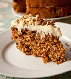 This homemade Carrot Spice Cake is full of warm, sweet spices, coconut and plenty of carrots! It's topped with the best homemade cream cheese frosting. Carrot Spice Cake, Homemade Carrot Cake, Apple Recipes, Cake Recipes, Dessert Recipes, Dessert Ideas, Just Desserts, Delicious Desserts, Yummy Food