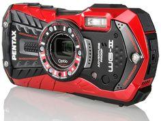 Pentax 16MP wasserfeste Outdoor-Kamera WG-2