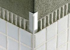 tile outside corners | Tile edge trim in aluminium (concealed, outside corner) MOSAICTEC RJF ...