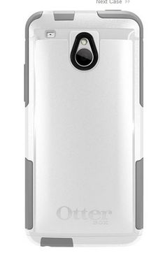 Otterbox HTC ONE Mini Commuter Case  White -  Sleek and sturdy protective case easily fits in your pocket Guard against scratches with the self-adhesive screen protector This slim case for the...