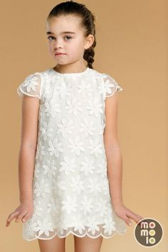 MOMOLO Street Style Kids :: The first children's fashion social network Baby Girl Dresses, Baby Dress, Flower Girl Dresses, Fashion Kids, Tween Mode, Kids Summer Dresses, Sewing For Kids, Kind Mode, Kids Wear