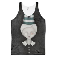 17f139d48ae50 Super Dunce Unisex All-Over-Print Tank - Devious Elements Apparel