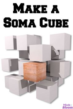 A Soma Cube is an it