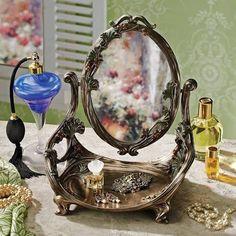 art deco vanity and mirror - Google Search