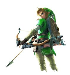 Edit of Breathof the Wild Link in his Green Tunic by zeltik