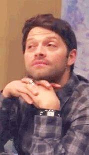 the synonym of cuteness is definitely Misha Collins