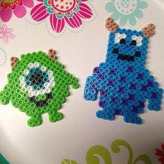 Monsters, Inc. perler beads by meganmorphine