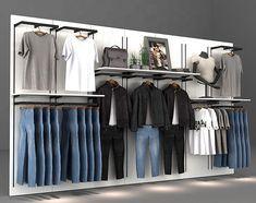 custom store display fixtures for clothes shop, retail store display fixtures for sale