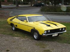 Australian 1974 Ford Falcon XB Coupe