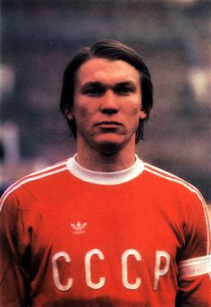 Oleg Blokhin.  Portrait.  (70's).