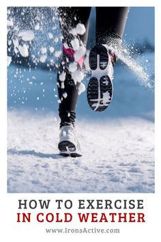 Have you ever wondered how safe it is to exercise outside in cold weather? Click on IronsActive.com to see what you can do to make sure that you stay safe exercising when it's cold.  When you exercise in the cold, your safety depends on your understanding of the risks for exposure in cold weather. It is also imperative to know what to do if you find yourself losing body heat. #runningincold #exercisingincold # #exercise #hiking #ironsactive.com Hiking Training, Endurance Training, Training Plan, Health And Fitness Tips, You Fitness, Fitness Goals, Running In Cold, Running Tips, Winter Hiking