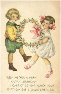 Victorian Birthday Cards