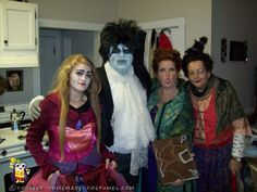 Cool Hocus Pocus costumes and Front Yard Props