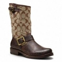 Latest Coach Fall Boots Collection 2013