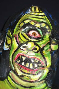 15 Most Incredible Face Paintings (face paintings) - ODDEE