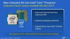 """CPUs Intel Core de cuarta generación V2 """"Haswell2-DT"""" llegan el 11 demayo"""