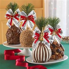 good idea for christmas diy christmas gifts - Christmas Candy Apples
