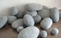 6pcs/set Living stones pillow , holiday gift Cobblestone Living  pillow ,  EMS free shipping