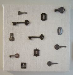 don't have any skeleton keys but will do this with old keys laying around