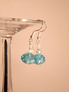 Earring: Blue Beaded