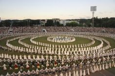 Lithuanian national dance and song festival