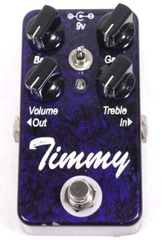 Paul Cochrane Timmy Overdrive Guitar Effects Pedal Tested Works Properly F/ship! #ReliablePawnShop #ReliablePawnStars #SimiValley