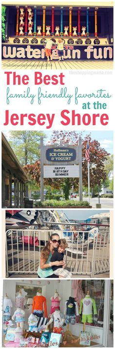 Best family friendly favorites at the Jersey Shore. Insider tips from a local NJ mom!