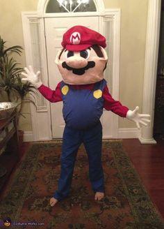 Super Big Super Mario - 2013 Halloween Costume Contest