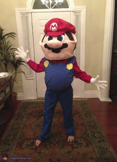 Super Big Super Mario - 2013 Halloween Costume Contest