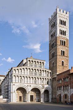 Catedral de San Martín. Lucca. Italia.
