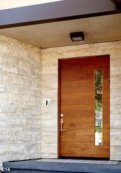 Pivot Door Gallery - PivotDoorCompany  The richness of our Katti design allows this entryway to pop.