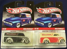 Hot Wheels - Dairy Delivery Lot - 2010 Hot Wheels Slick Rides