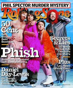 Rolling Stone Cover of Phish