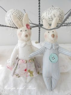 Evelyn and Rose: Mini Hares