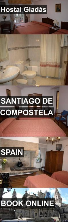 Hotel Hostal Giadás in Santiago de Compostela, Spain. For more information, photos, reviews and best prices please follow the link. #Spain #SantiagodeCompostela #travel #vacation #hotel