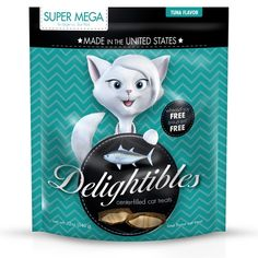 Delighitbles Center-Filled Gourmet Cat Treats >>> More info could be found at the image url.