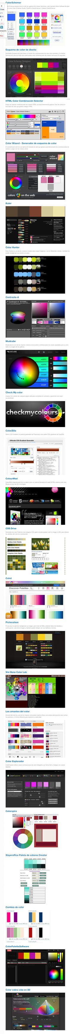 22 Webs para combinar colores