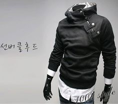 PANDA'Z SHIRTS, SLIM DESIGN HOODIE JACKET